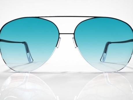 HopeShades Premium-Style Sunglasses. Product Design and Renderings.