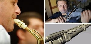 3D Printed Musical Instruments (Image Credit: http://www.classicfm.com/)