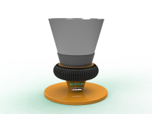 Bluetooth Speaker Cup – 3D Rendering