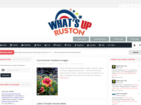 New What's Up Ruston