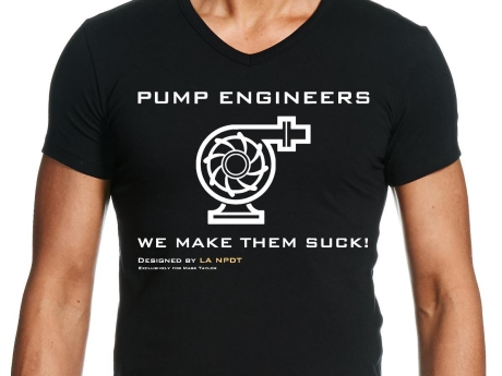 Custom T-shirt Design and Printing for a Pump Engineer