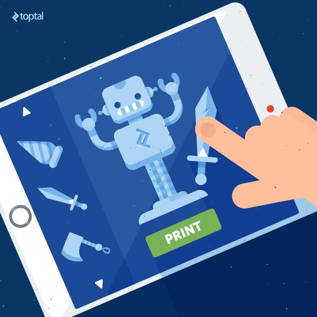 3D Printing: Should Designers And Developers Take Notice? Image credit: Toptal