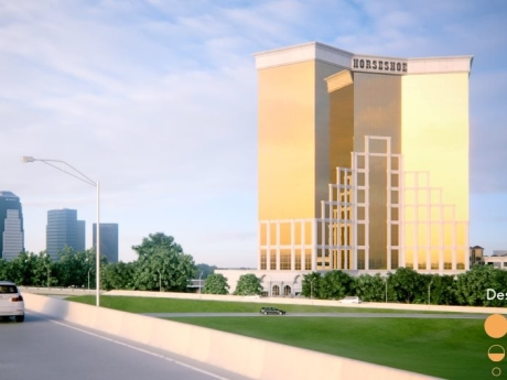 Architectural Renderings of the Horseshoe Bossier City Hotel and Casino