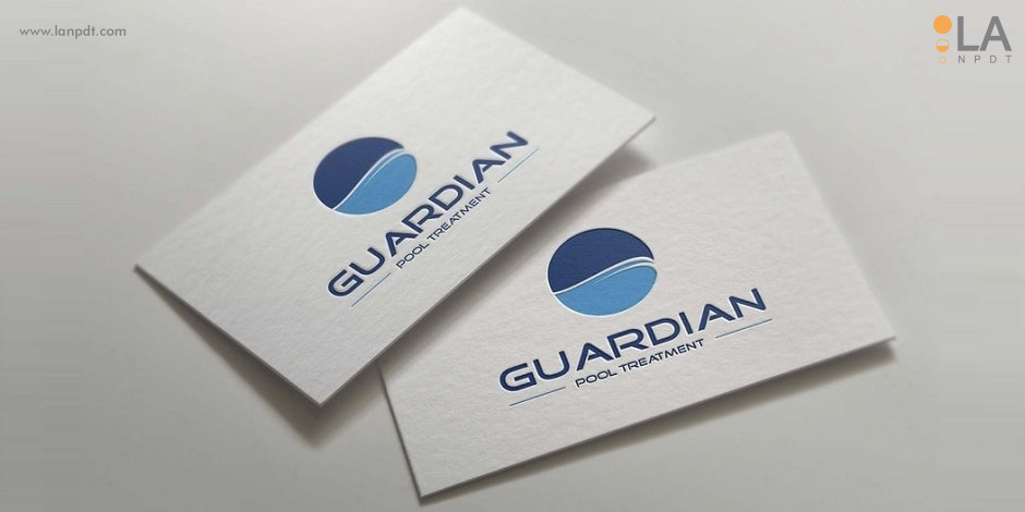 Logo for guardian pool treatment llc designed by la npdt shreveport client reheart Image collections