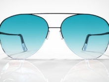 HopeShades Premium-Style Sunglasses. Product Design and Renderings.