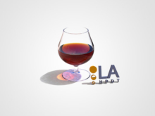 Cognac Glass 3D Rendering and Animation
