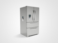 3D Renderings and Animation – Multi-Dispenser Fridge