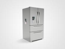 3D Renderings and Animation – Multi-Dispenser Fridge