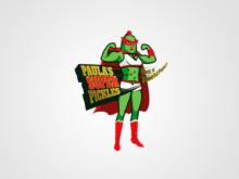 Food Logo Design – Paula's Super Pickles