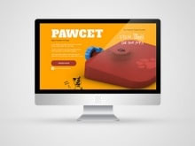 Pet Product Website – Pawcet