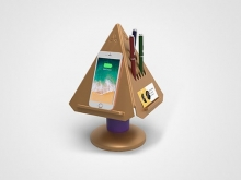 PRISM: Technology-integrated Desk Organizer