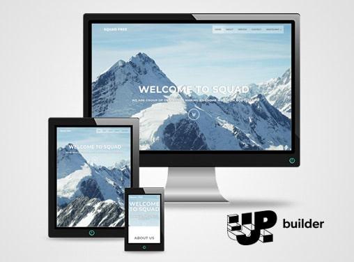 Up Builder, Website builder application development by LA NPDT, web application